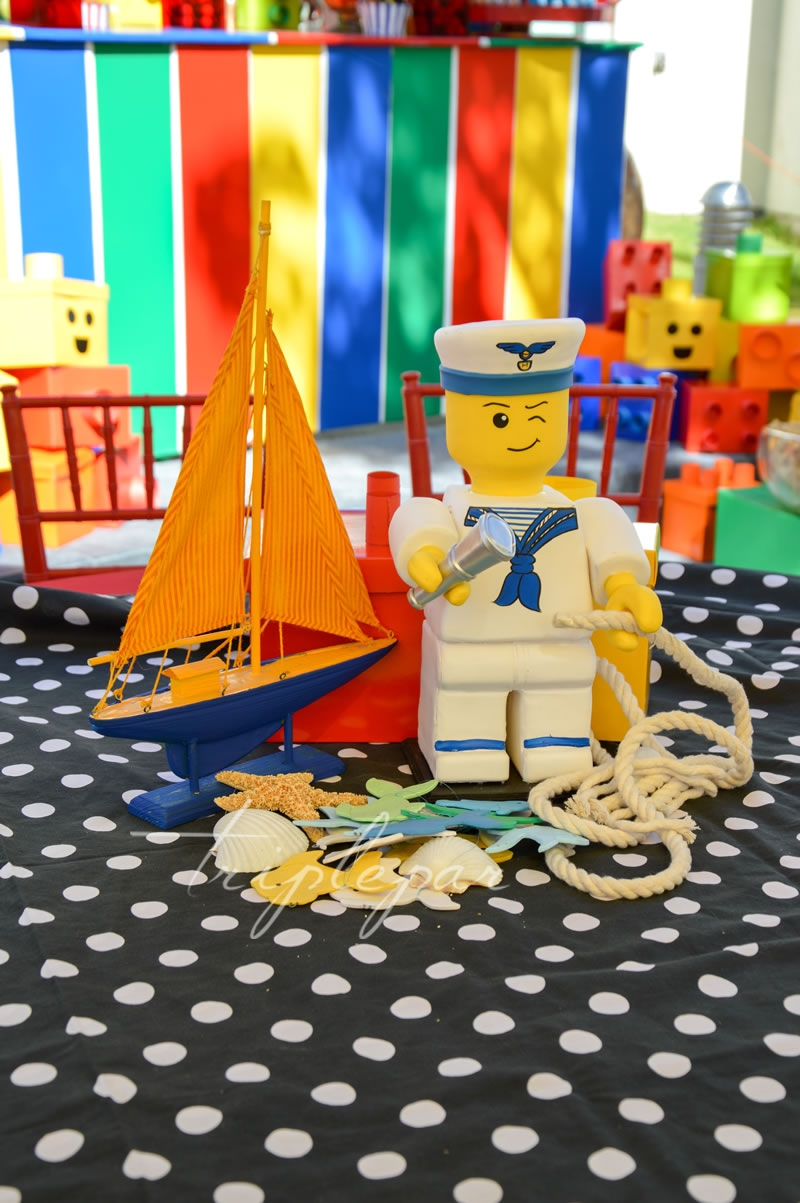 Decoración Lego