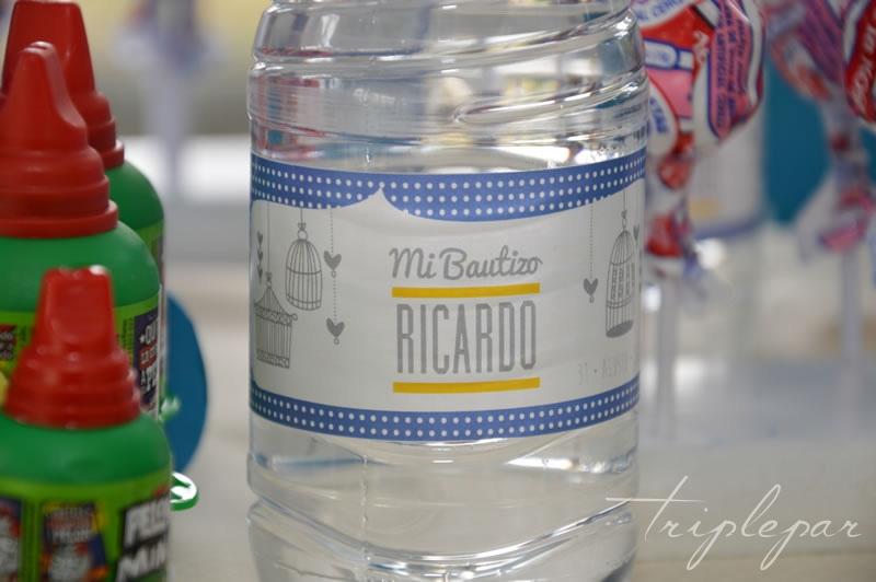 Candy Bar Bautizo de Ricardo