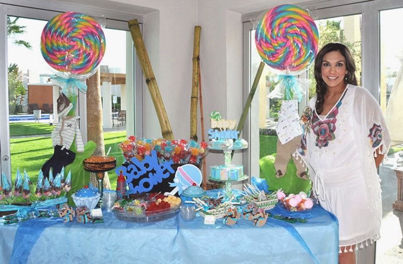 Candy Bar Baby Shower Martha