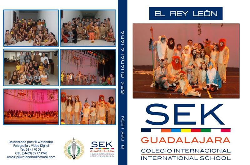 El Rey León, Colegio SEK Guadalajara