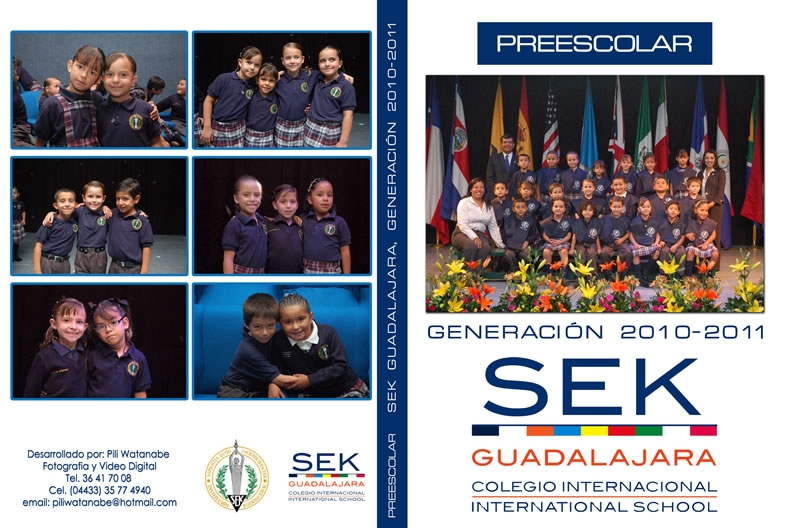 Portada DVD Graduación Instituto Internacional SEK