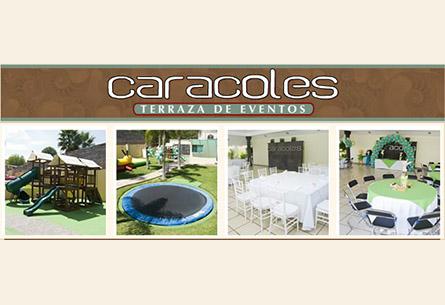 Terraza caracoles sal n de eventos en zapopan triplepar for Caracol de jardin